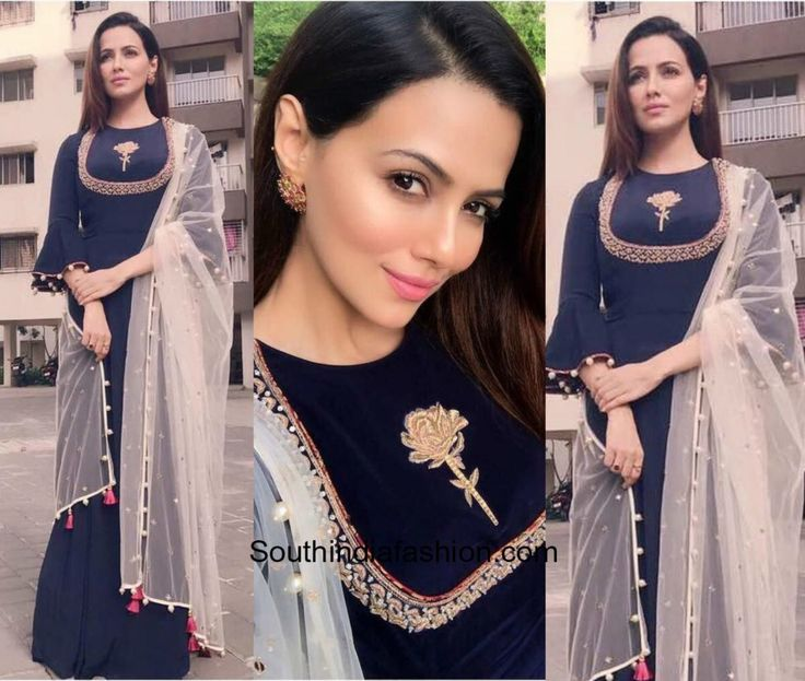 Sana Khan in Monika Nidhii