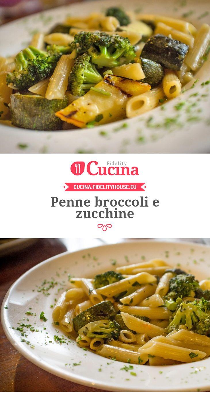 Penne broccoli e zucchine