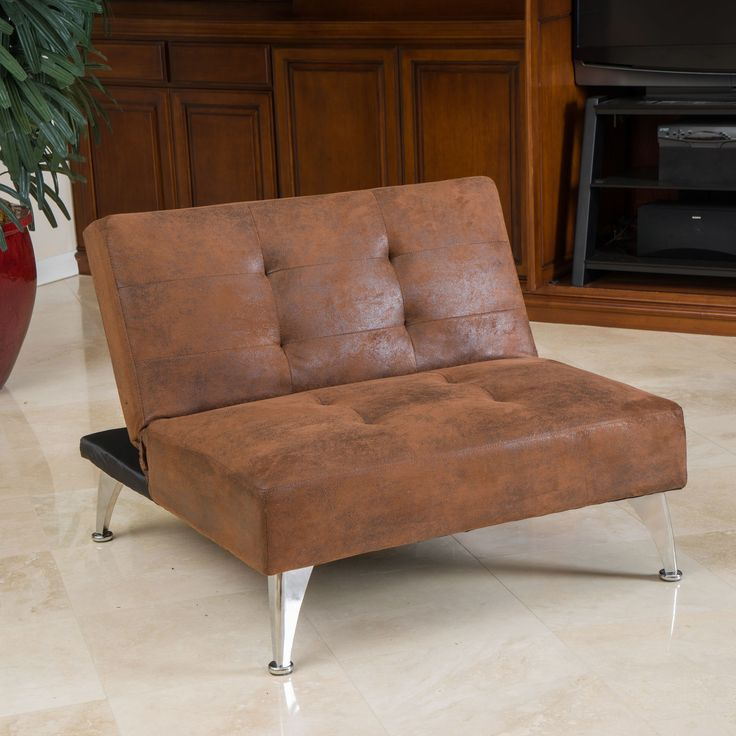 Home Loft Concept Castletown Click Clack Oversized Convertible Chair