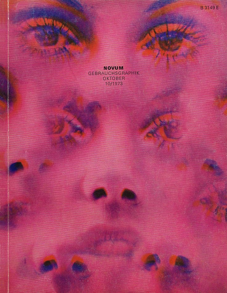 Gebrauchsgraphik/ Novum Design magazine, October 1973 •