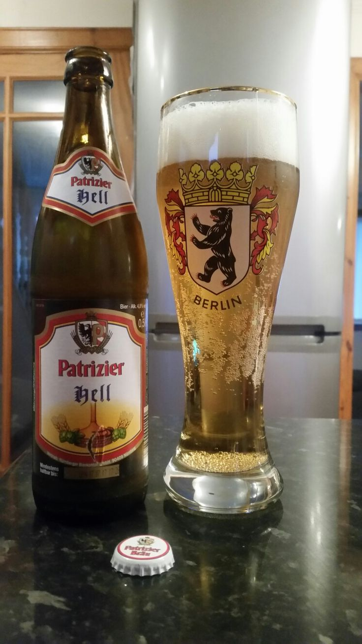 Patrizier Hell German Lager