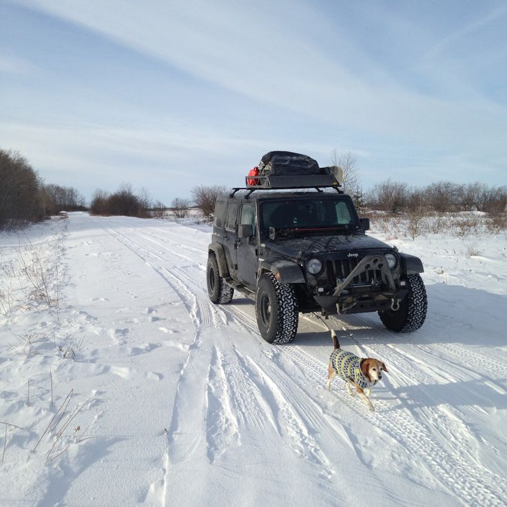 Road trip across Canada in my 2014 Jeep Wrangler