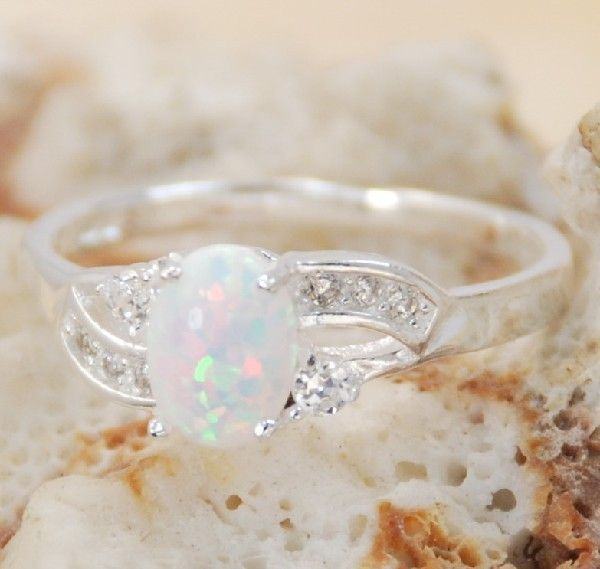"Ring Stone Size  5.75, 6, 6.75, 7, 7.5  Maximum length : 1/8''  Maximum width: 1/4""  Weight: 1.4 grams  Packages are shipped within 24 hours of payment cleared between Monday to Friday, we do not ship during weekends and holidays.  Please make ..."