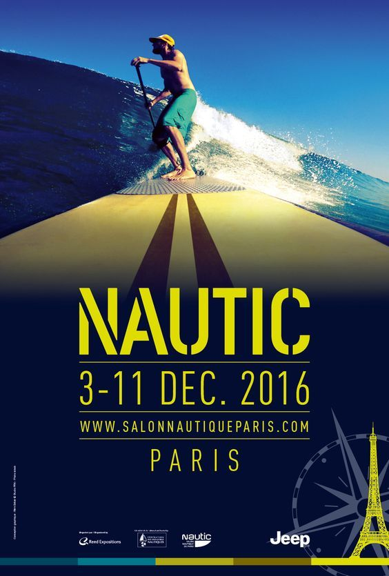 STAND UP PADDLE - Nautic Paris 2016