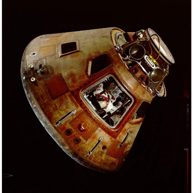 "Apollo 11 Command Module ""Columbia""Apollo Programs, National Air, American History, Apollo 11, 11 Command, Final Frontier, Module Columbia, Command Module, Spaces Museums"