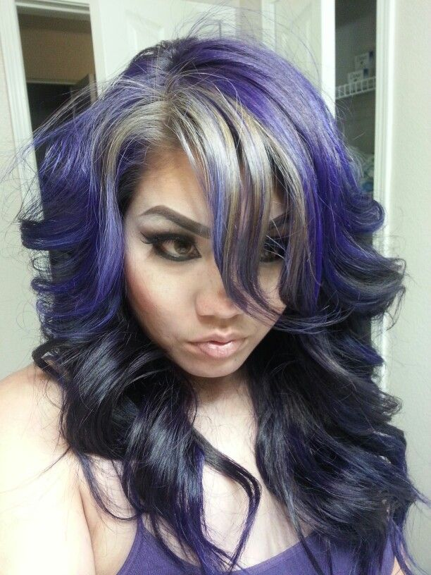 Pravana Violet And Silver Prelighten Hair To Level 7 For The 10