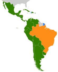 Amérique latine — Wikipédia