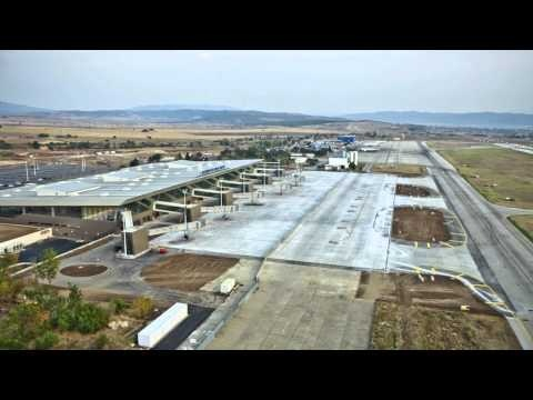 New Skopje Alexander the Great Airport/M