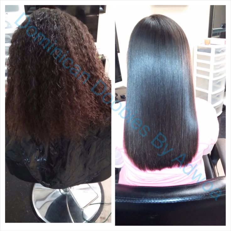 Dominican Blowout On Natural Hair Products
