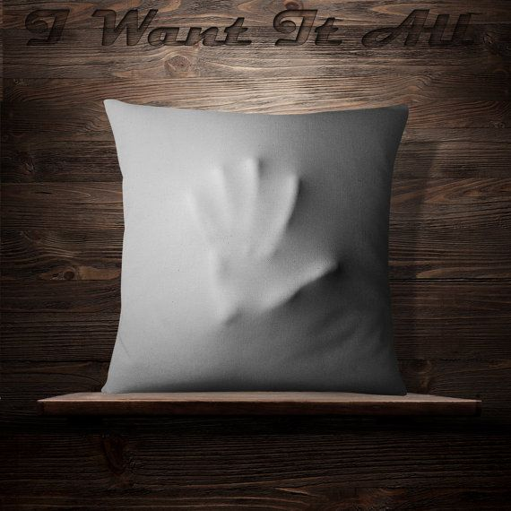 Hand Sheet | Stranger Things | Spooky | Throw Pillow | Halloween Decorations | Gift | Halloween Decor  | Halloween Pillow | Horror | Horor