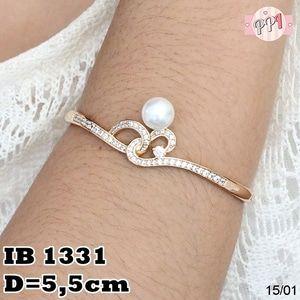 Perhiasan Gelang Lapis Emas 18k B 1331 Fast Respon Pin BB : 5F81C0E7 No Hp : 081223335084