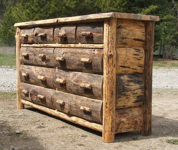 Rustic Wood Furniture ~ Best ideas about rustic log furniture on pinterest