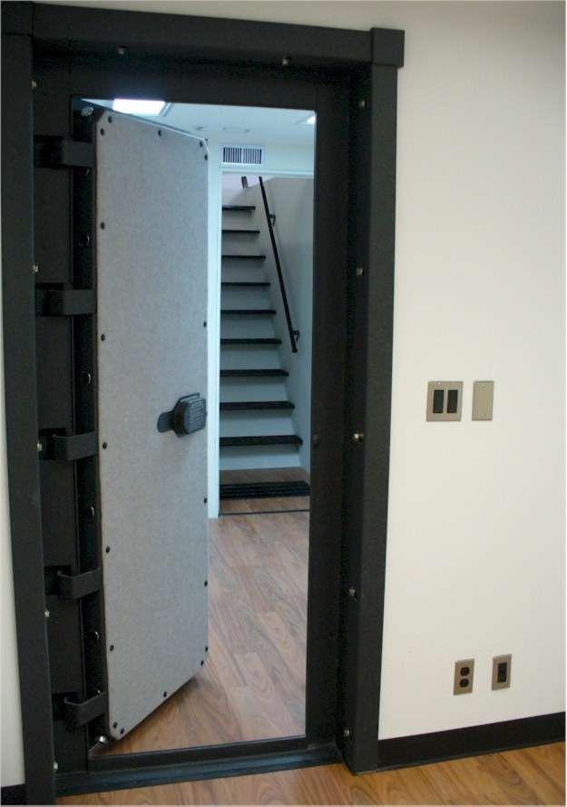 32 best vault doors images on pinterest vault doors for Underground gun vault