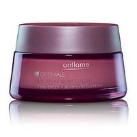 #Oriflame #Optimals Time #Relax Night Cream  www.kosmetikaslevy.cz