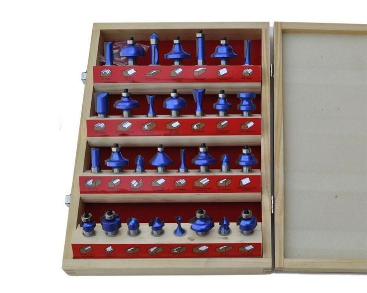 Super Deluxe 30-Piece Router Bit Set