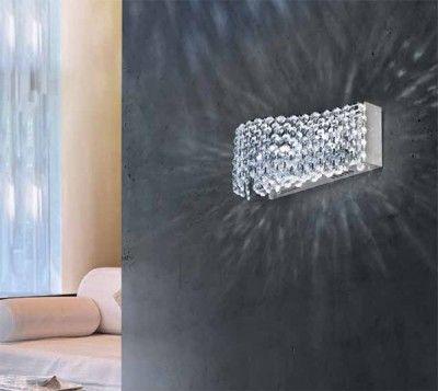 AZzardo Roma - Kristall Vägglampa