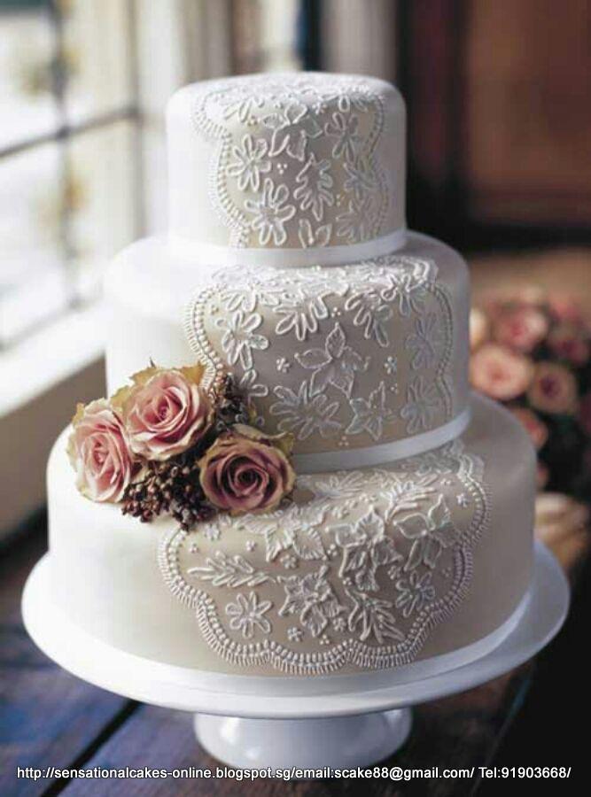 Wedding+cake+table+decorations   Wedding Cakes Singapore : (Wedding Cake  Singapore