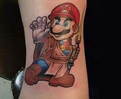 A tatoo dos gamers. Show.