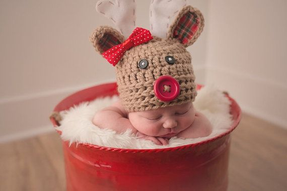 Sombrero de la Navidad sombrero del bebé sombrero de la