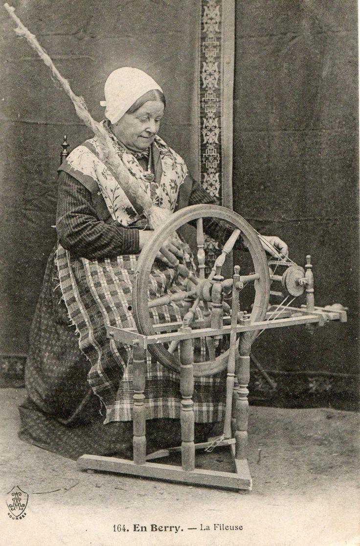 The Spinner. pretty little wheel