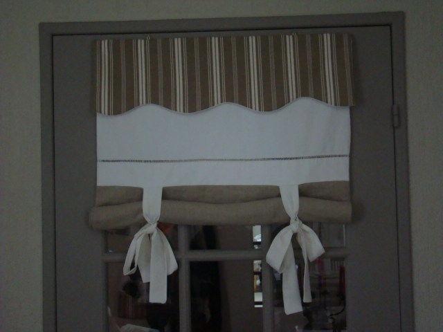 Store toile matelas et linge ancien linge ancien for Store toile interieur
