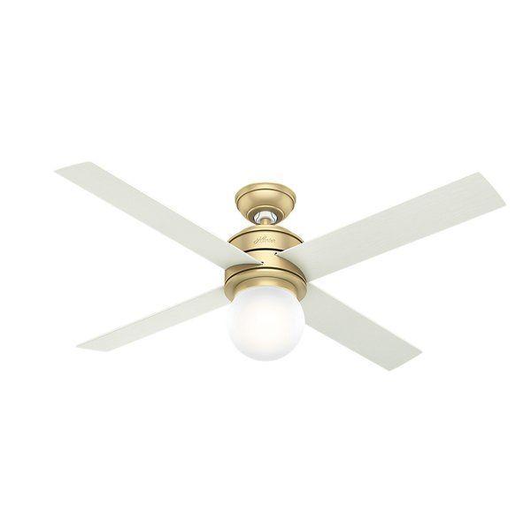 52 Hepburn 4 Blade Ceiling Fan Light Kit Included Avec Images