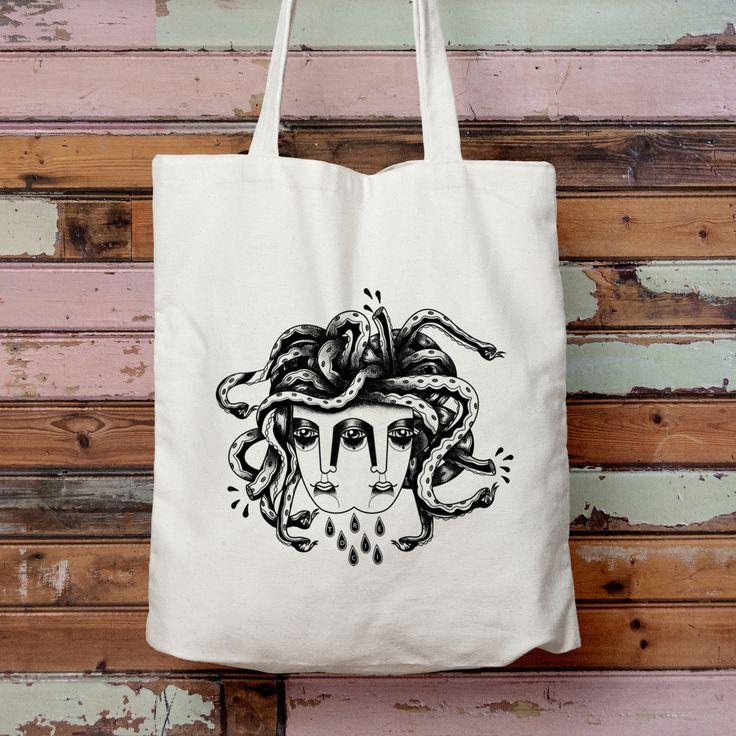 Tredici Collective — Organic 'Medusa' Tote Bag