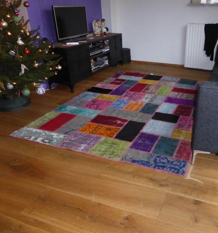 Kroon Wonen Karpet Patchwork Multi 5.530 http://www.vloerkledenwinkel.nl/category/Retro-vloerkleed/product/Kroon-Wonen-Patchwork-Multi-5.530