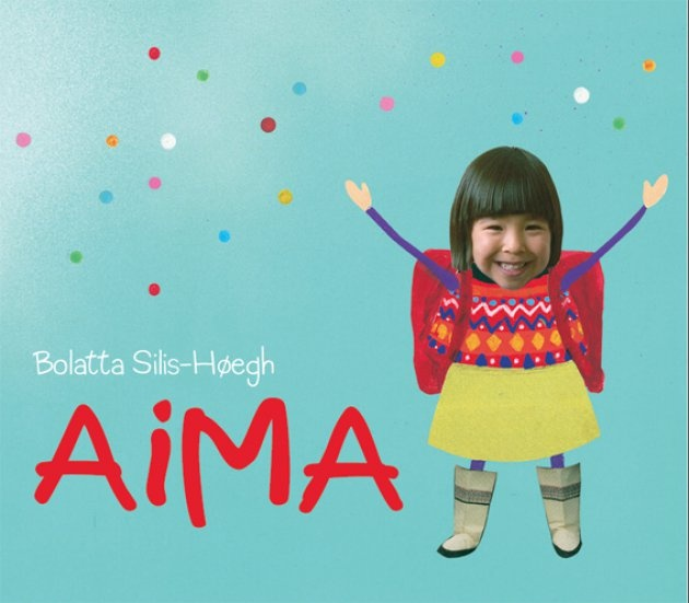 A cute Childrens book about the greenlandic girl from South Greenland called Aima. Writen and illustrated by Bolatta Silis-Hoegh who also is a great artist