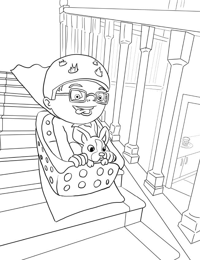 What Should Danny Do Coloring Page