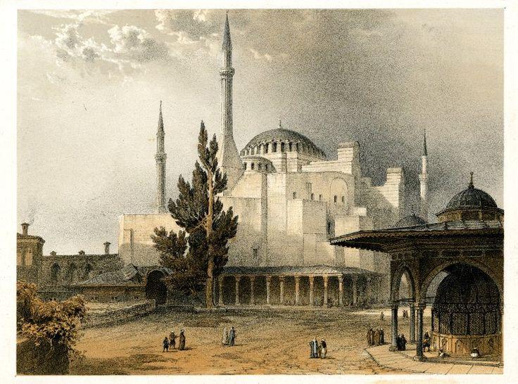 Aga Sophia,1852 print