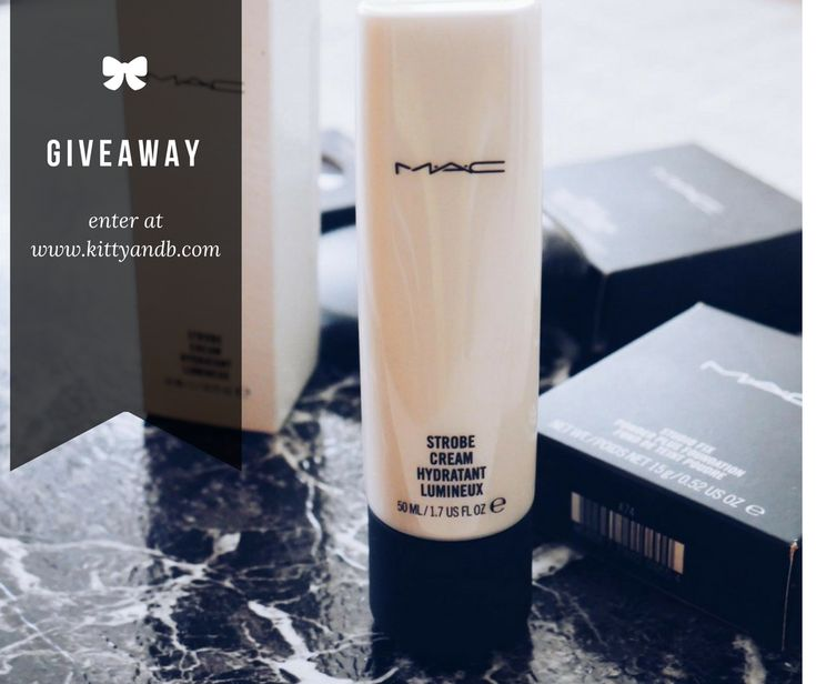 Discount M.A.C Haul Revisited  Strobe Cream Giveaway - Kitty & B
