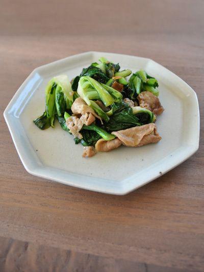 ターサイ豚肉炒め by toumonさん | レシピブログ - 料理ブログのレシピ ...