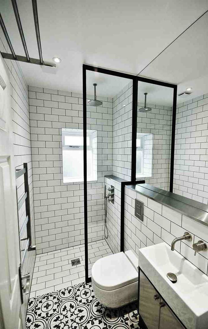 encaustic tiled bathrooms amberth interior design and lifestyle blog - Bathroom Ideas Metro Tiles
