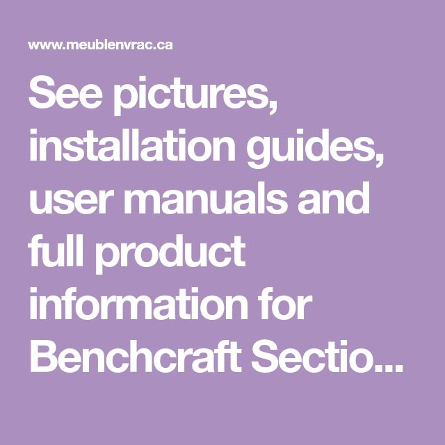 See Pictures Installation Guides User Manuals And Full Product Information For Benchcraft Sectionnels Aldie Nuvella 687 Aldie User Manual Product Information