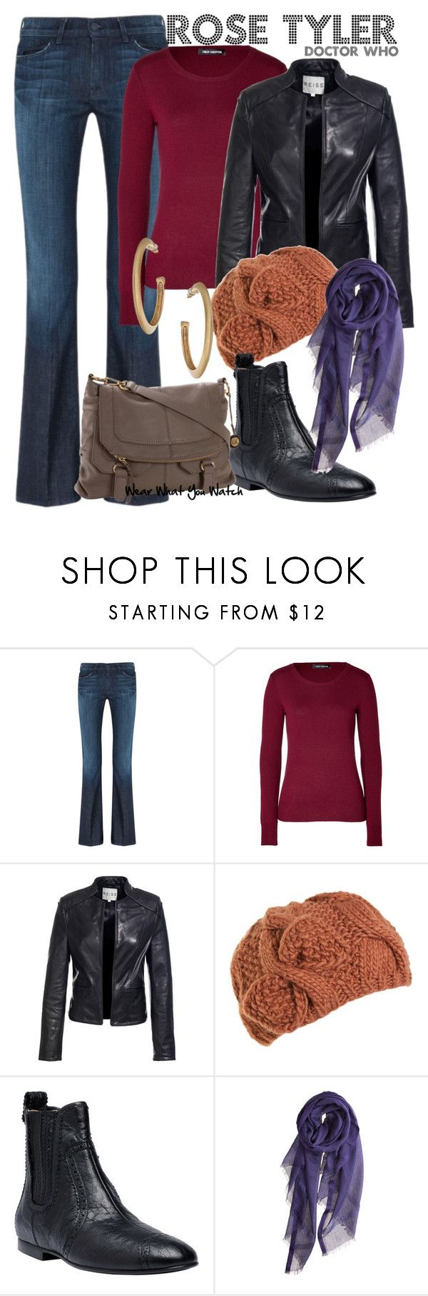"""""""Doctor Who"""" by wearwhatyouwatch ❤ liked on Polyvore featuring 7 For All Mankind, IRIS VON ARNIM, Reiss, A