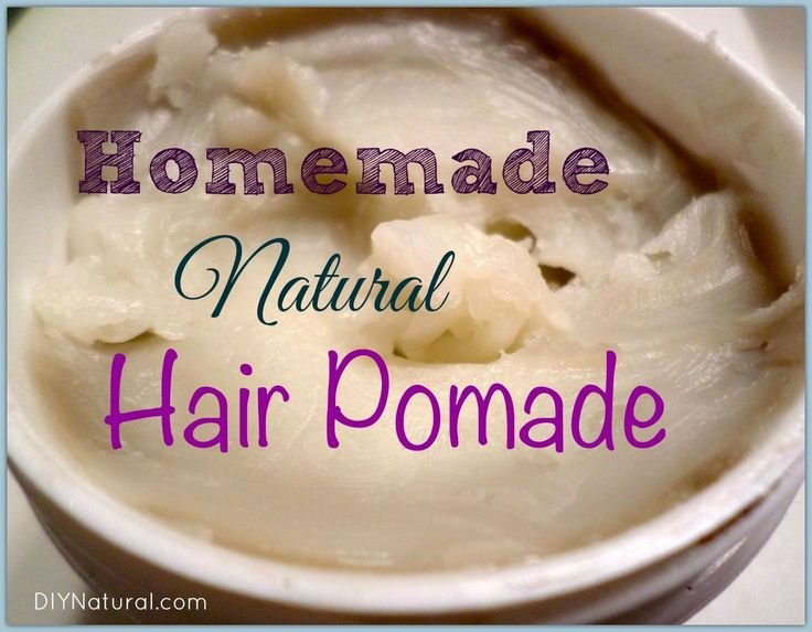 Finally! A homemade pomade without all the parabens, formaldehyde, fragrance, and other undesirable ingredients in the store-bought stuff. And it's non-greasy!
