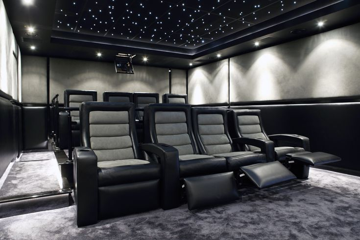 modern home theater ceiling height - Google Search