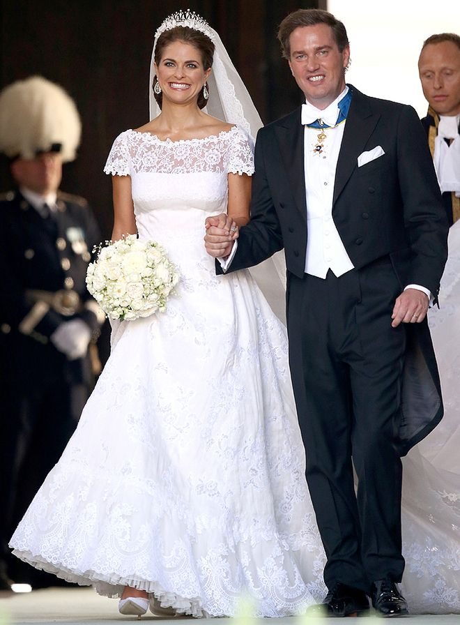 Шведская принцесса Мадлен, свадьба