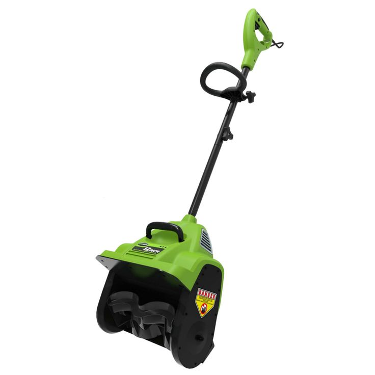 Greenworks 8-Amp 12-in Corded Electric Snow Blower