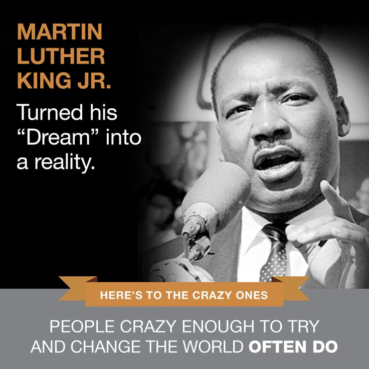 Martin Luther King Jr | www.SlenderSuzie.com