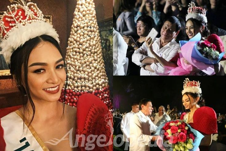 Kylie Verzosa posts selfie with President Duterte, draws mixed reactions