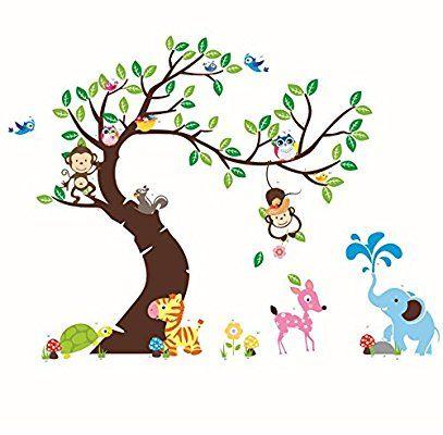 35 best Kinderzimmer Wände images on Pinterest | Wall decal sticker ...