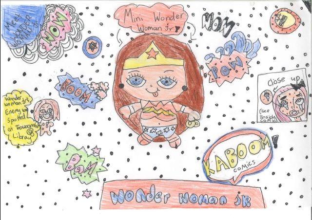 Charlotte G. - Wonder Woman Jr.