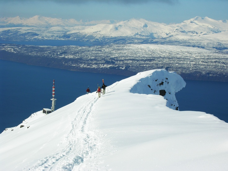 Excellent Skiing in Narvik