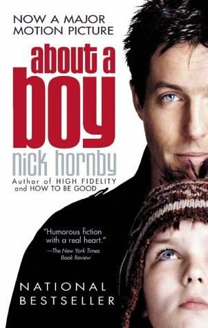 Novel: About a Boy by Nick Hornby. Also a movie. Nick Hornby's novel, About A Boy, is a coming of age story about two boys, Will a 36-year-old bachelor, and Marcus, an eccentric, introverted, bullied 12-year-old with a suicidal mother.