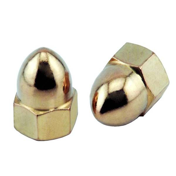 Acorn Nuts Also Known As Cap Nuts Feature A Domed Fastener Head Which Protects Screws And Bolts From Stripping Allowing F Screws And Bolts Items Accessories