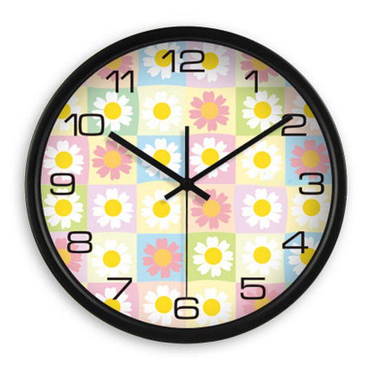 Large Silent Antique Wall Clock Modern Design Espelhos De Parede Decorativo Plastic Wall Clock Living Room Home Decor DDN468