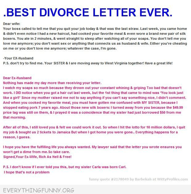 best divorce letter ever 148 best images about statements on 36425