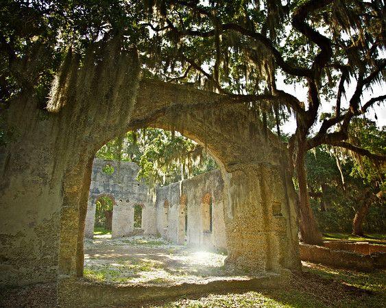 Chapel of ease, St. Helena Island, Beaufort County, South Carolina